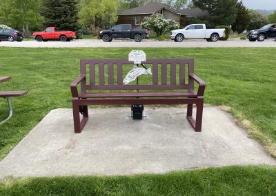 Leadership bench in Spearfish