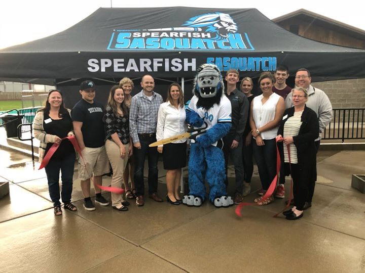 We found the illusive Samson the Sasquatch! Check out the new summer collegiate wood bat baseball league in town. Welcome to the chamber, Spearfish Sasquatch. We can hardly wait for your inaugural season to be a hit!