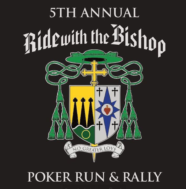 THE BISHOP'S RIDE HAS BEEN RESCHEDULED DUE TO WEATHER.  Please spread the word and plan to join us on July 22!