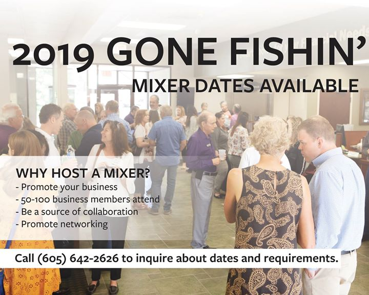 We have several 2019 Gone Fishin' dates available.🎣🎣🎣  Snag one while they are still vacant. Call the office at 642-2626 for more information.