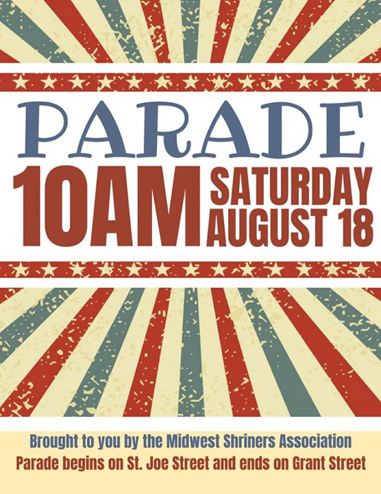 Join the Midwest Shriners for their parade through Spearfish on Saturday. The parade begins at 10 a.m. running from St. Joe St. to Grant St. 🚙🚗🚙🚗  Visit Spearfish Black Hills State University