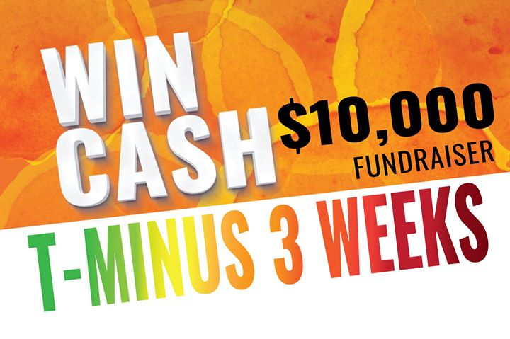 Soon someone wins $10K. Will it be you?  Support your local Chamber. $50 per ticket.