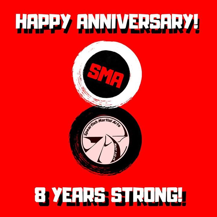 Happy Anniversary to all of our students, families, friends and anyone who has contributed to Spearfish Martial Arts. It wouldn't be what it is without you! We are grateful and blessed!  .  . . #sma #spearfishmartialarts #spearfish #happybirthdayMsStrawn! #southdakota #anniversary #bjj #brazilianjiujitsu #tkd #TaeKwonDo #atosjj #ucdka #God #blessed #8years #strongerthanever