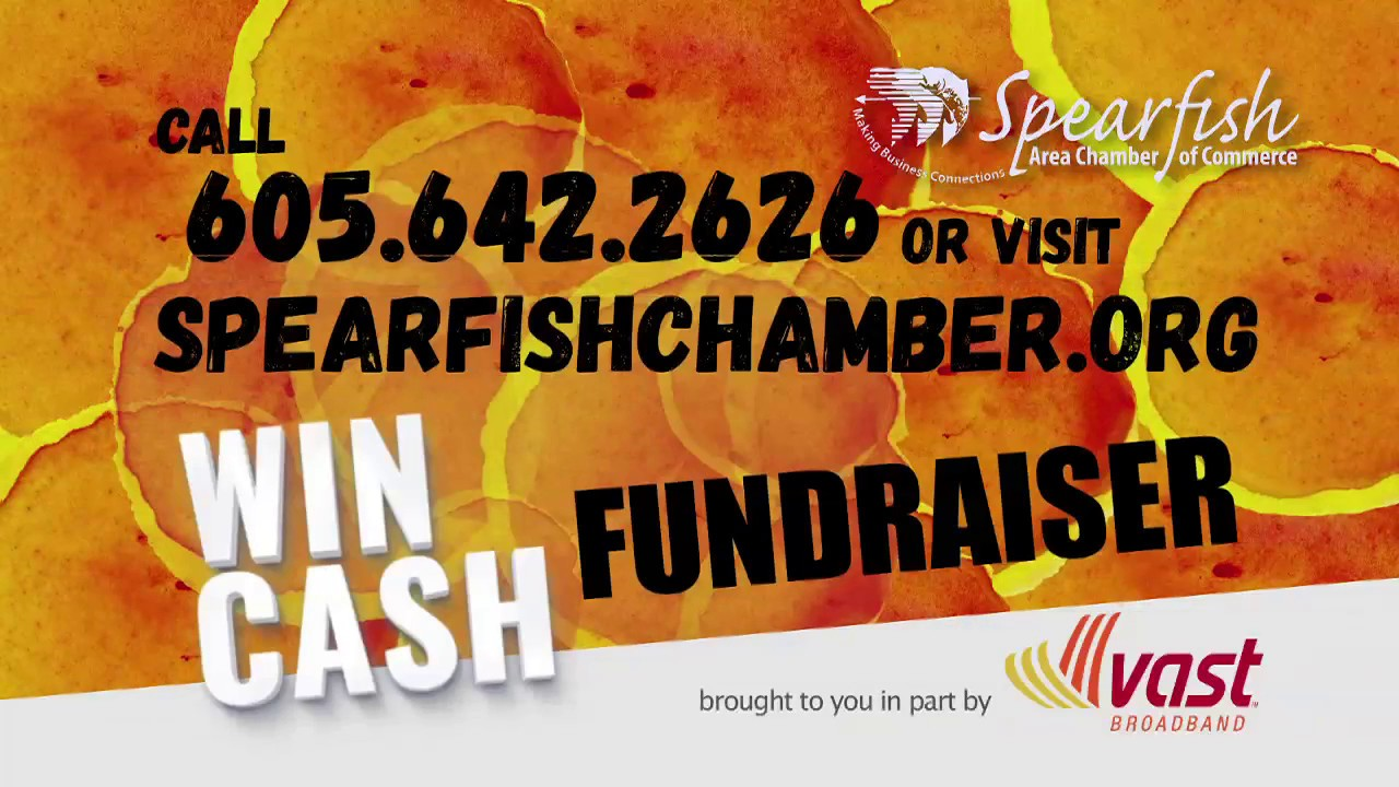 The Spearfish Area Chamber of Commerce is hosting their 2018 Annual Fundraiser. Win up to $10,000 CASH! The drawing will be held on September 27th. Watch Fac...