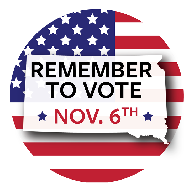 Are you ready to exercise your right to vote? Election day is tomorrow. Make an impact in the elections results.  Voting booths are open from 7 a.m. to 7 p.m.  🔴 Residents within City Limits can vote at the Senior Citizen's Center at 1306 N 10th St.  🔵 Residents of Lawerence County can vote at the Spearfish Park Pavilion at 115 S Canyon St.  Check out a sample ballot at --> https://sdsos.gov/elections-voting/upcoming-elections/general-information/default.aspx