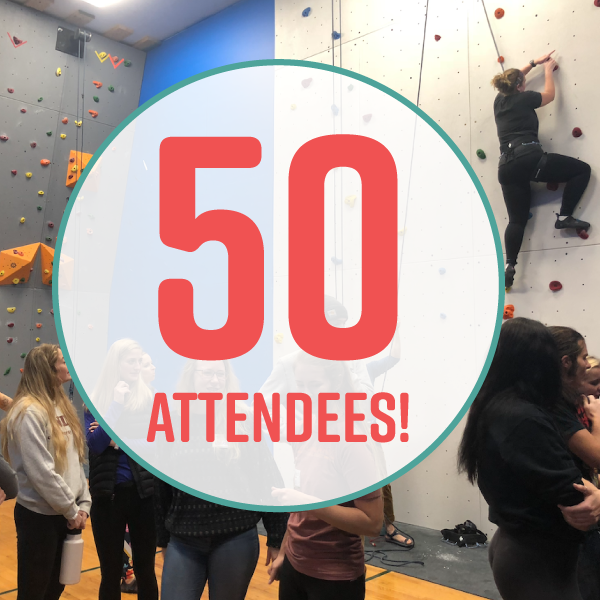 GAH! We hit 50 attendees for the second time in 2018!  Thank you, thank you, thank you for everyone who attended and had fun!  High Mountain Climbing Gym and The Hot Room: Hot Yoga, Sculpt, and Barre were amazing hosts! It's nearly impossible to leave the High Plains Health Centre without a smile on your face.  Our events wouldn't be possible without you all and the amazing businesses who sponsor our events. They help us keep our events free of charge and full of fun activities, food, and drink. ♥️The BEST WAY to say thanks is to stop in and refer others to their business!  Also, huge shoutout to the amazing planning team who organizes our Socials and Lunch & Learns and our 2018 Annual Sponsor: Black Hills Title!  Jen Jungwirth Aleisha Hale Huppler Taylor Ann Linn Hans Nelson Rebecca Zaynor CMG Financial: Katie Peterson Samantha Figgins DC.  ------> Follow us on Instagram @thehookyp <-----