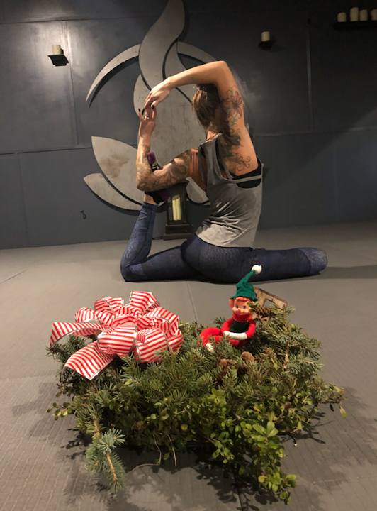 Marv has found another HOT holiday promotion!  The Hot Room: Hot Yoga, Sculpt, and Barre is celebrating the 12 days of Christmas starting today!  On the 12th day of Christmas...They will be pouring BulletProof Coffees! Come to any class today and The Hot Room will give you a shot of coffee mixed with collagen and coconut oil! Mmmmmmm.  For the next 12 days, get ready for an awesome gift at each class you attend. Yay! Check their Facebook page (The Hot Room: Hot Yoga, Sculpt, and Barre) each night to see what goodies are in your future.  The Hot Room is a gently heated studio using a state of the art infrared heating system specializing in yoga and group fitness classes. From restorative and gentle to class to sweat your face off, they have a class for you.  #wheresmarv #marvisonthemove #infared #yoga #spearfish #spearfishchamber #elfontheshelf #strength  #12daysofchristmas #goodies
