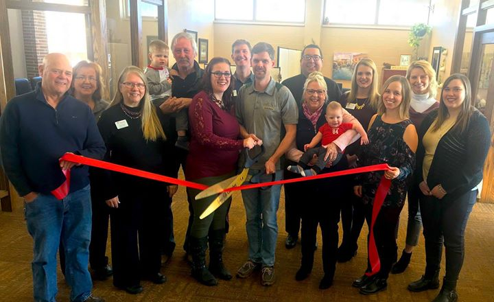 Black Hills Real Estate Photography stopped by the Chamber for their official Ribbon Cutting. Owner Nathan Hoogshagen is a certified drone flight and specializes in real estate photography! Congrats!