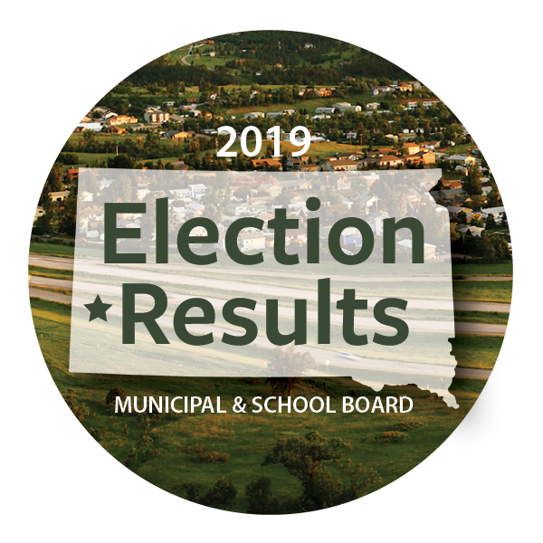 Congratulations to our newly elected Municipal and School Board positions.  Mayoral Election  Dana Boke  City Council Ward III Darick Eisenbraun  Spearfish School Board positions  Ryan Niesent Eric Skavang  For more information visit Black Hills Pioneer.