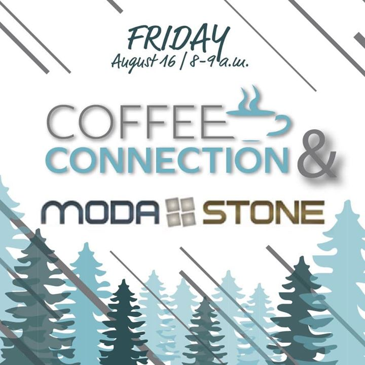 TODAY!  See you soon at Moda-Stone for the August Coffee Connection.  (Across the street from Walmart | 8-9 a.m.)