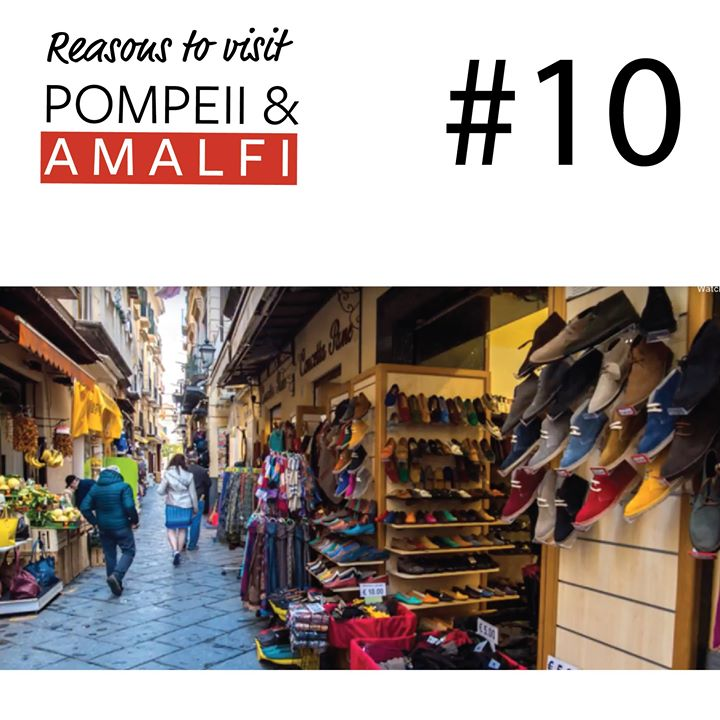 Last but not least! (but really the reasons are endless)  #10 Reason to Discover Pompeii & Amalfi this October.  Accommodations - From intimate boutique retreats to grand five-star hotels, no matter where you stay along the Amalfi coast you will always have serious accommodation envy.